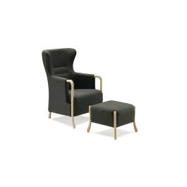 Claudia øreklapstol / hvilestol i moderne design