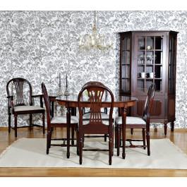 Gustavianske møbler og spisestuer