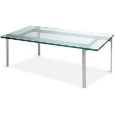Barcelona sofabord med glasplade