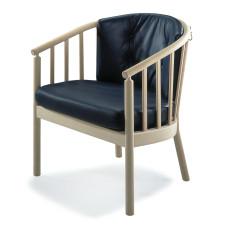 Bella hvilestol med synligt træstel