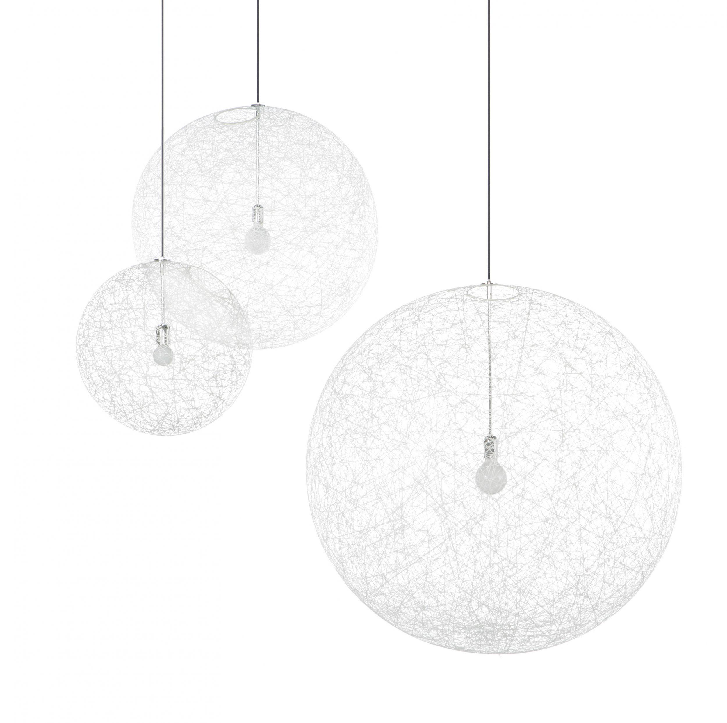 moooi random light pendel loftslampe i hvid eller sort. Black Bedroom Furniture Sets. Home Design Ideas