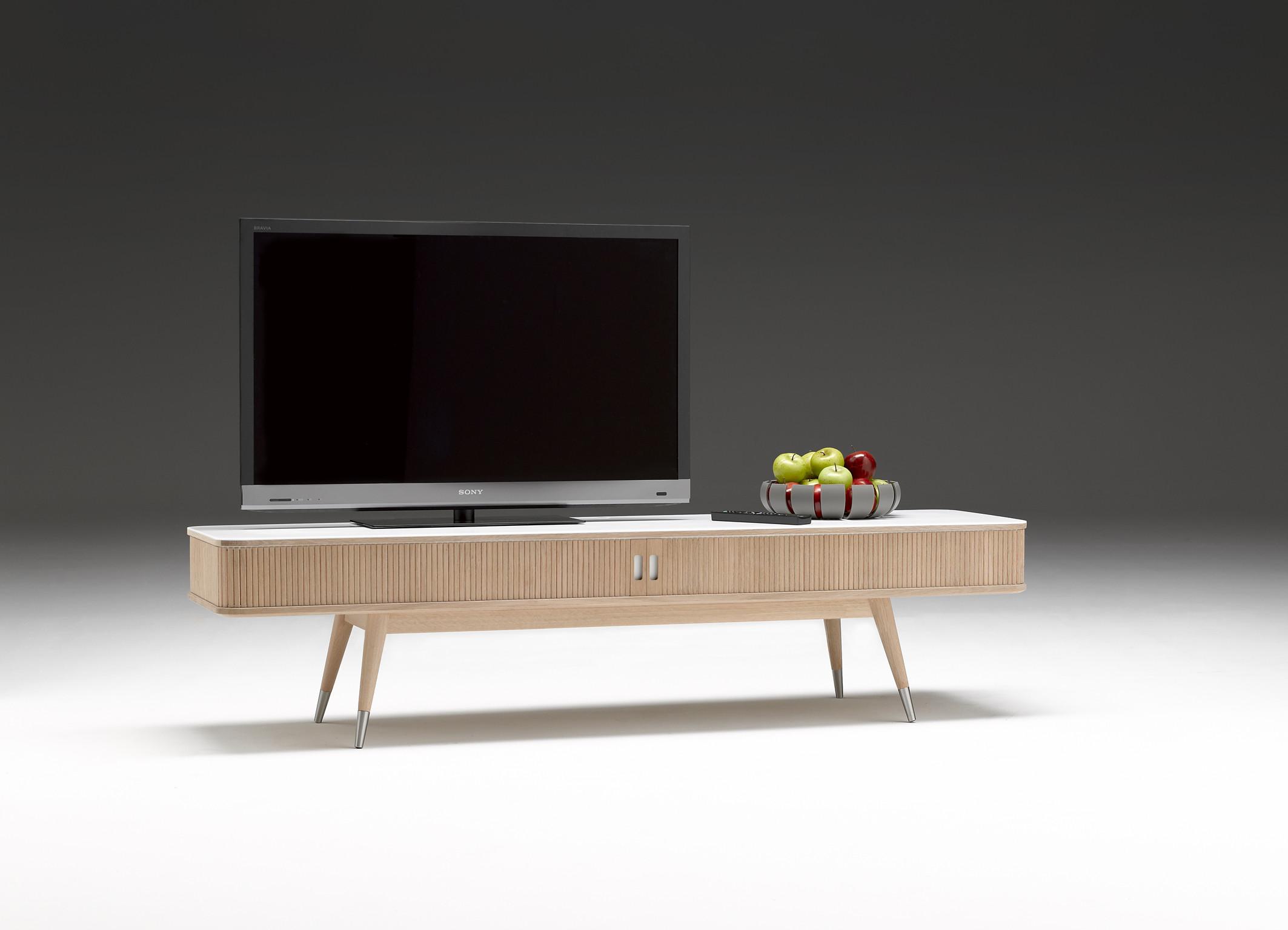 ak 2720 tv bord fra naver collection med corian og. Black Bedroom Furniture Sets. Home Design Ideas