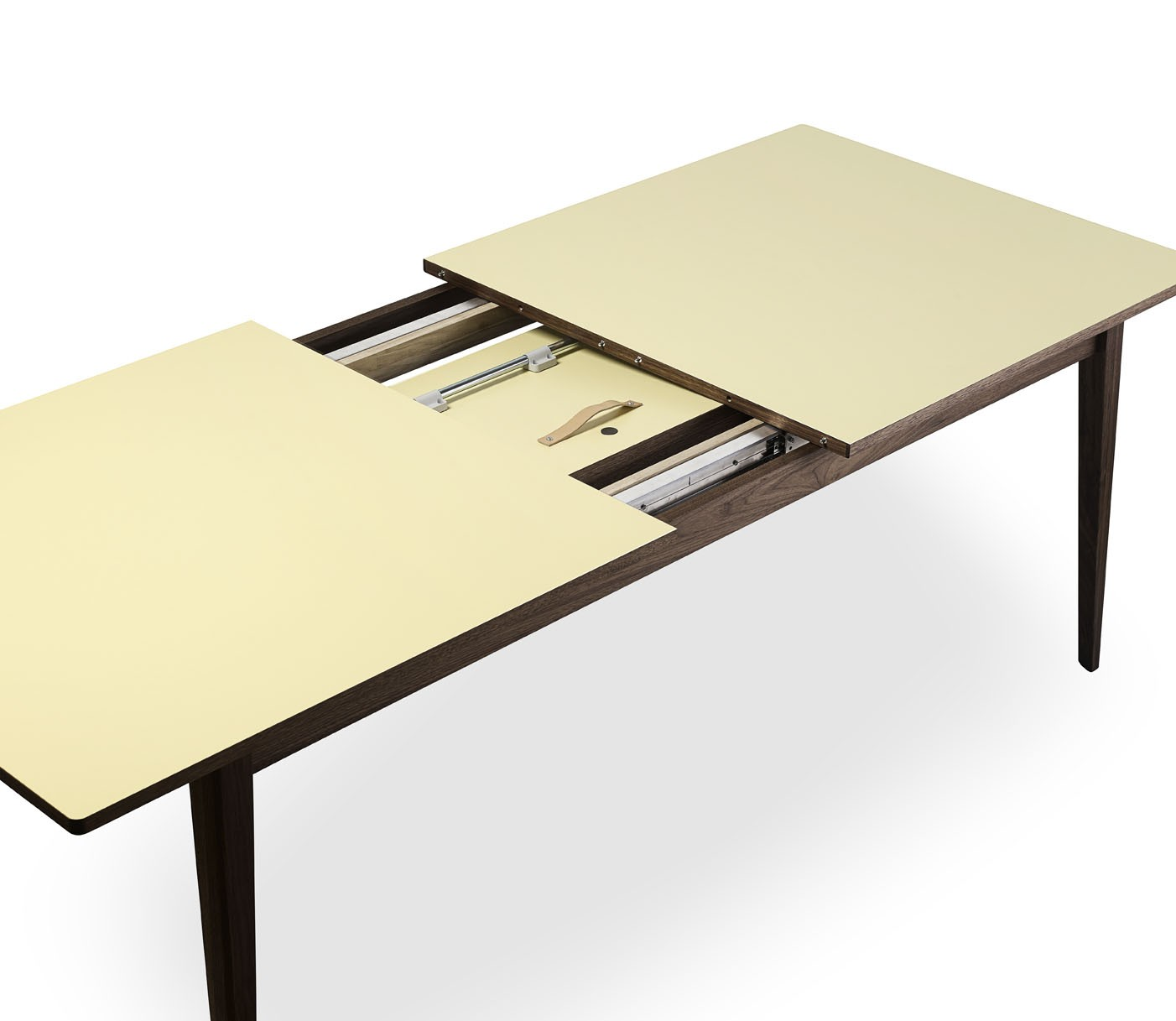 spisebord laminat T3 Papillon spisebord bykato med butterfly plade i laminat spisebord laminat